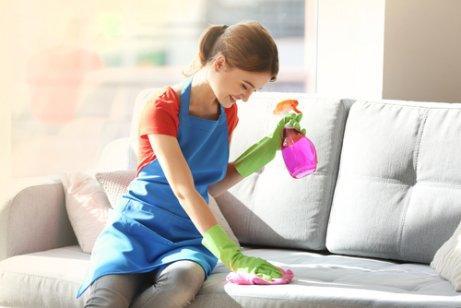 Fem ingredienser for å fjerne støv fra møbler