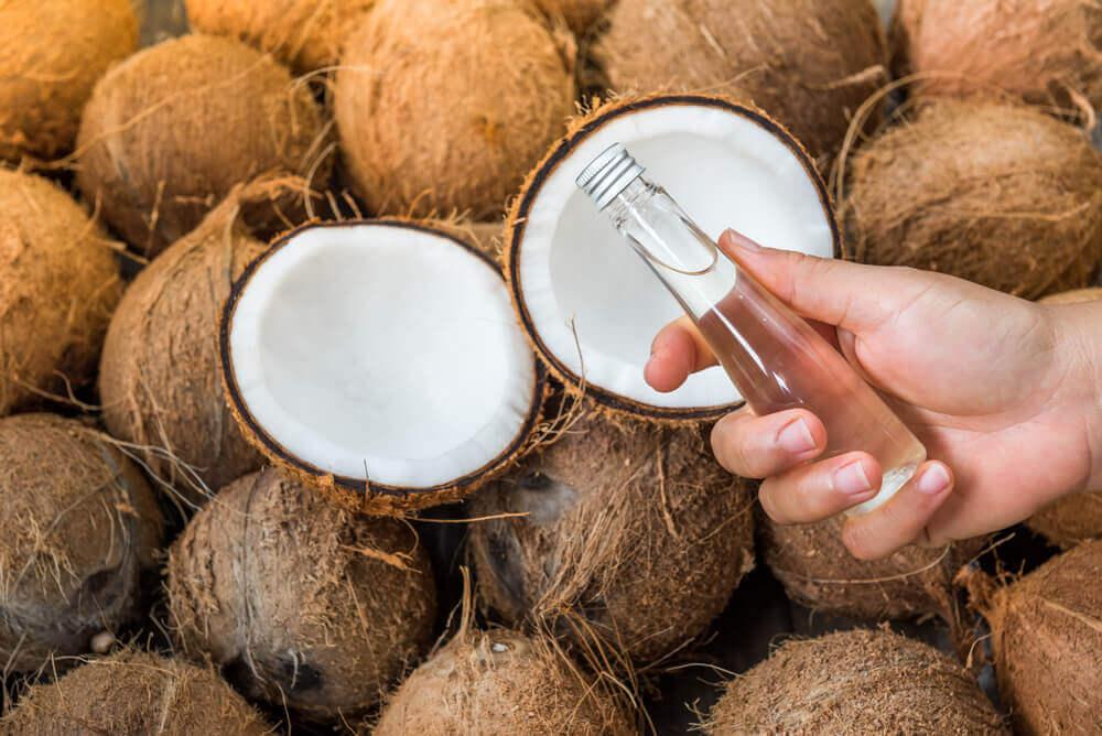 Kokosolje mot strekkmerker