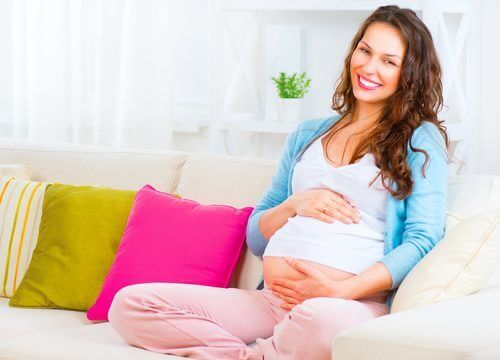Gravid kvinne