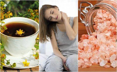 5 naturlige remedier for å lindre nakkesmerter