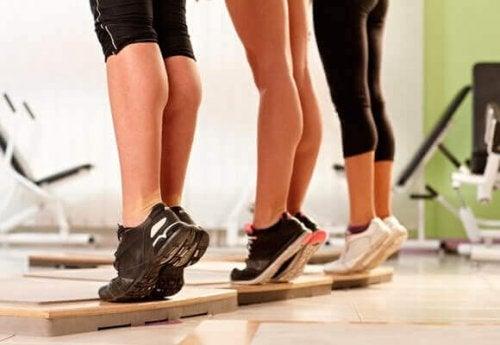Trening av benmuskler