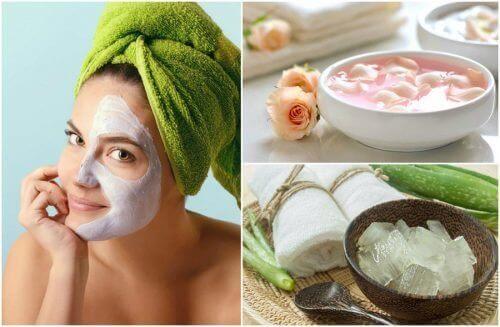 De 4 beste ansiktspeelingene for å fjerne døde hudceller