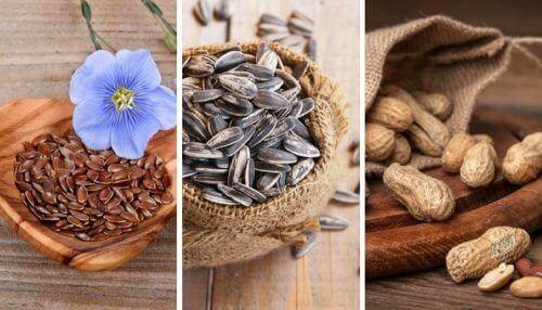 5 spiselige frø som har noen utrolige egenskaper
