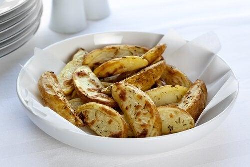 Stekte poteter
