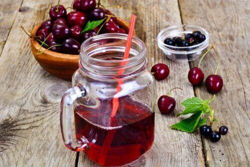 Kirsebærjuice