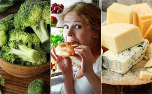7 matvarer man bør unngå å spise om kvelden