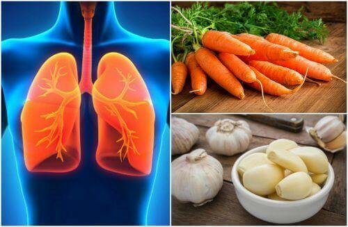 7 matvarer som forbedrer lungehelsen din