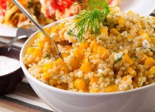 Salater med quinoa