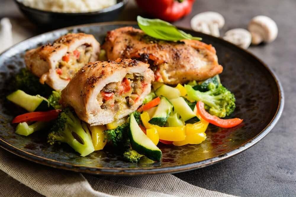 spise sunt og gå ned vekt