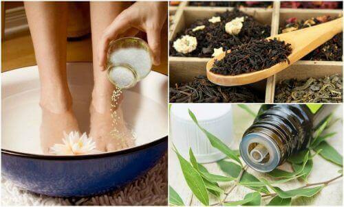 5 hjemmelagde remedier mot svette føtter