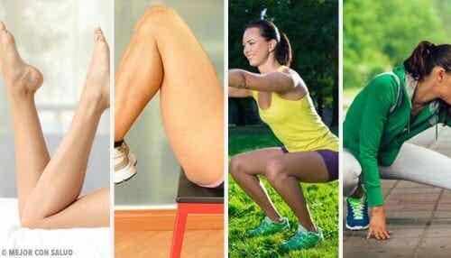Prøv disse hjemmeøvelsene for å få sterke ben