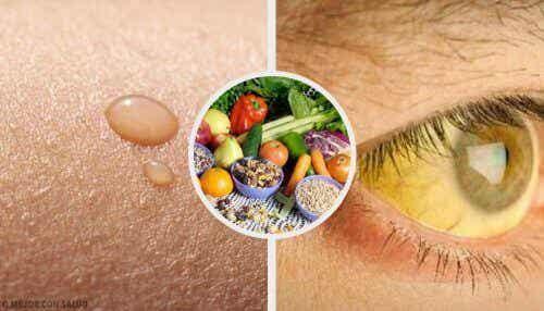 10 tegn på vitaminmangel og hva du kan gjøre med dem