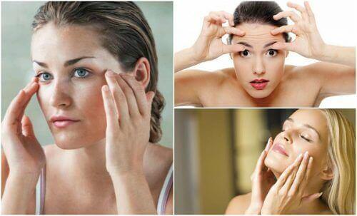 6 ansiktsøvelser for å holde slappheten på avstand