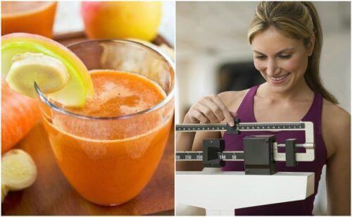 6 grunner til at du bør drikke juice med ingefær og gulrot