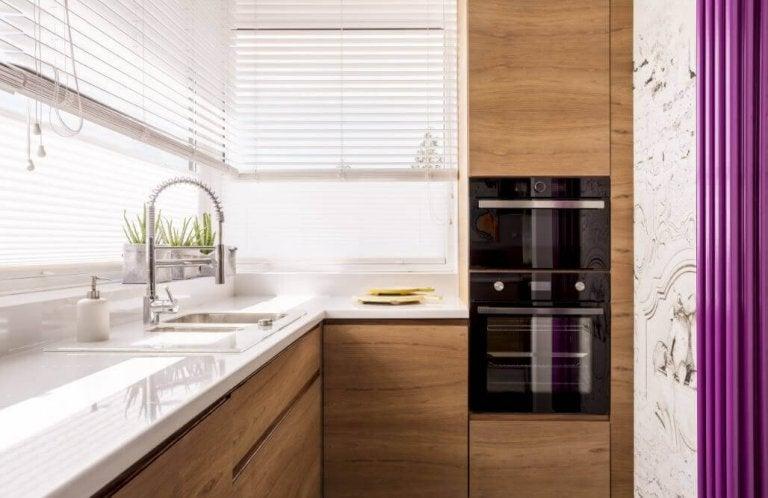 6 fantastiske måter å innrede et lite kjøkken på