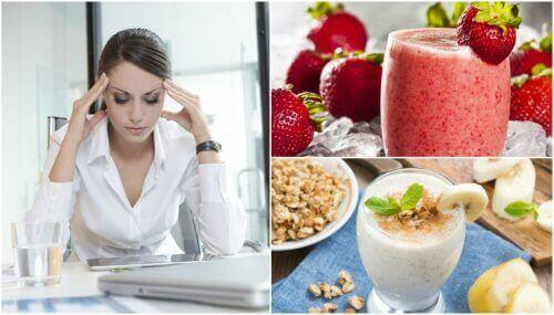 5 smoothies for å bekjempe utmattelse om morgenen