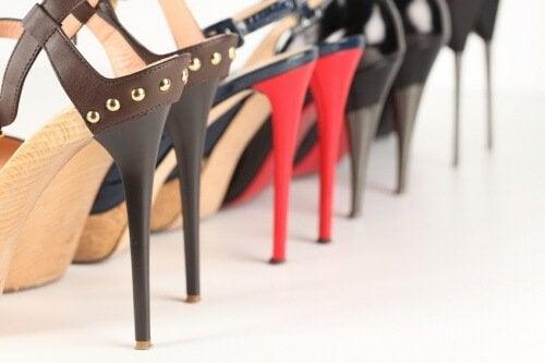Høye hæler