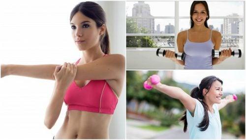 Få faste bryster med 5 enkle øvelser