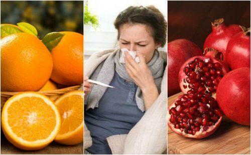 Unngå influensa med disse 8 matvarene