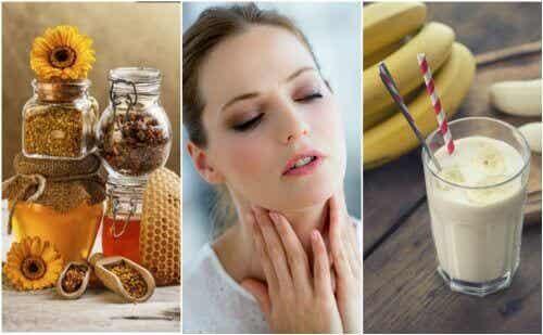 Berolige en tørr hals med 6 naturlige remedier