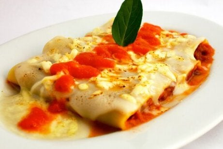 Kylling-cannelloni
