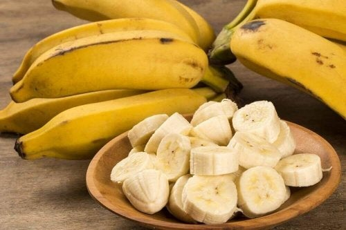 bananer bra for magen