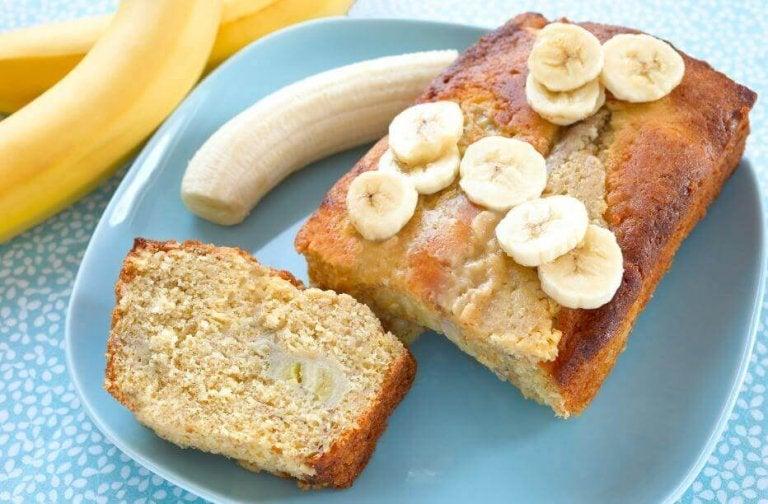 3 måter å lage banankake hjemme på