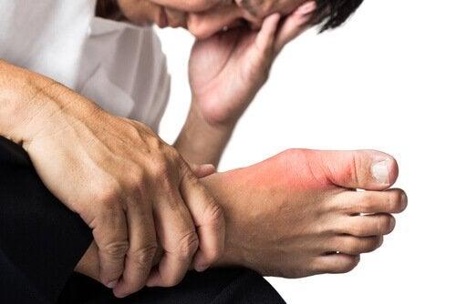 gikt kan være smertefullt