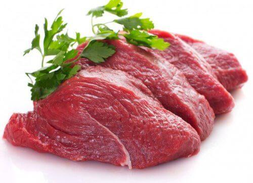 rødt kjøtt øker kolestrol