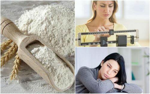 7 negative effekter av raffinert mel