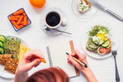 fem måltider om dagen er best