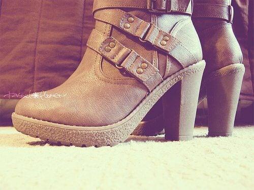 støvletter hæye hæler