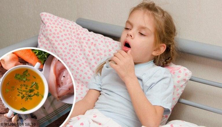 Råd for å lindre tørrhoste hos barn