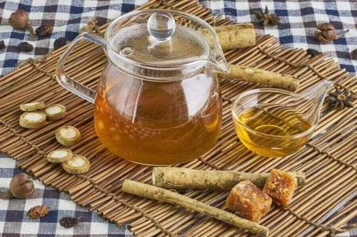 Naturlig te