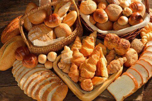 Ulike typer brød