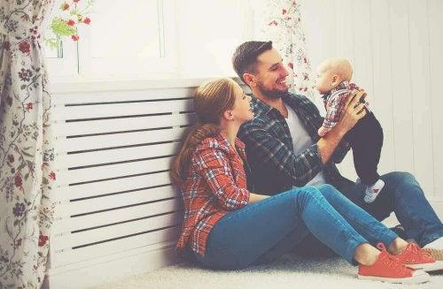 Foreldre og baby
