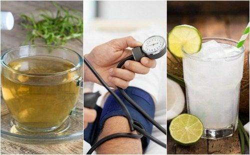 5 naturlige remedier for å kontrollere blodtrykket ditt