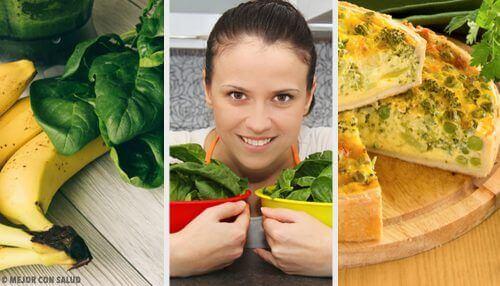 5 sunne spinatoppskrifter som kan nytes hver dag