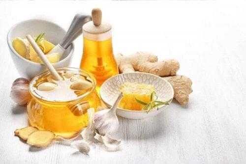 Ingefær, hvitløk og honning mot høyt kolesterol