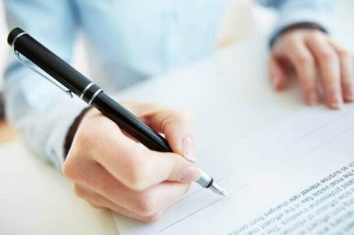 Hva sier signaturen din om deg?