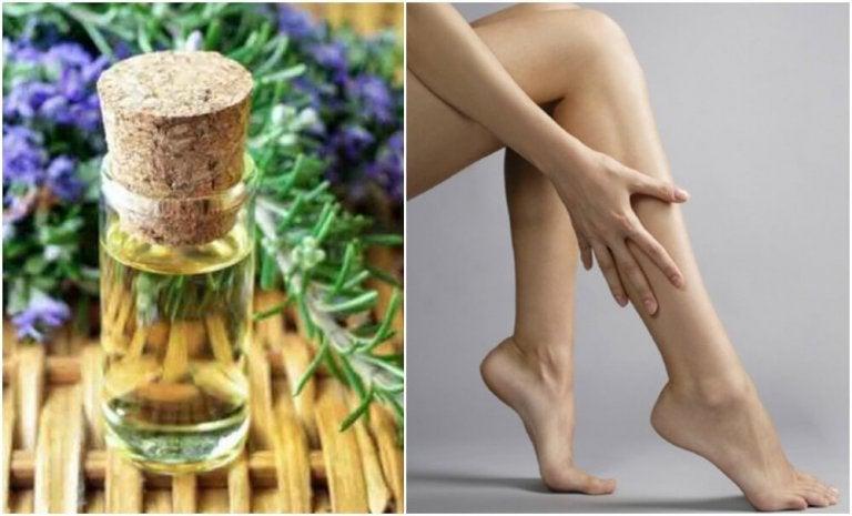 Prøv denne oppstrammende oljen for beina dine
