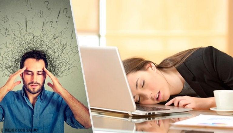 9 uvaner som forårsaker angst i hverdagen