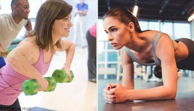 5 øvelser for å redusere bryststørrelsen din
