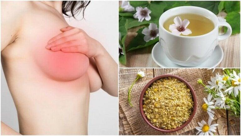 5 naturlige remedier for å lindre brystsmerter