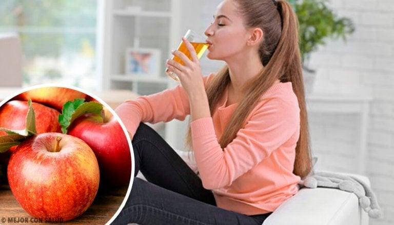 8 fordeler med å drikke eplejuice