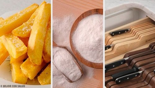 8 enkle kjøkkentriks for å gjøre matlagingen enklere