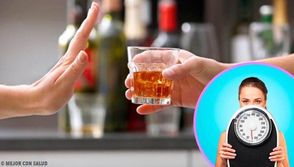 Må du kutte ut alkohol for å gå ned i vekt?