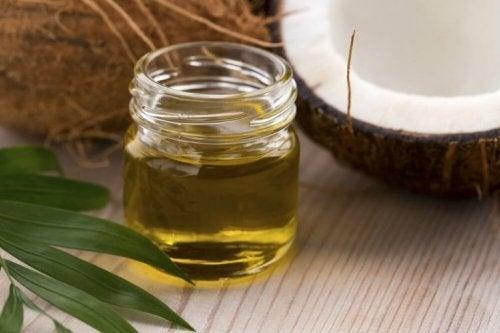 Behandling med kokosolje og honning