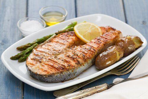 Fet fisk øker verdier av røde blodceller