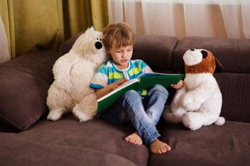 La barna dine velge hva de skal lese